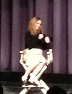 Jennifer Jason Leigh.   Photo by Karen Salkin.