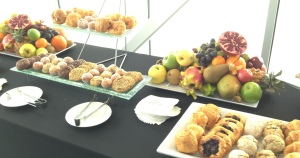 Part of the breakfast buffet. Photo by Karen Salkin.