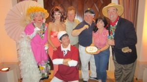 The Gilligan's Island-ers.  Photo by Alice Farinas.