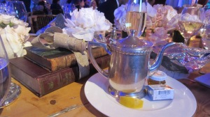 Part of the table setting. Photo by Karen Salkin.