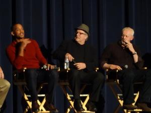 Will Smith, Albert Brooks, and David Morse.   Photo by Lauren Clarke-Bennett.