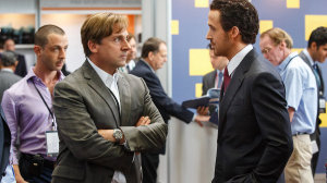 Steve Carrell and Ryan Gosling.