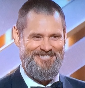 He was funny, but why would Jim Carrey choose to look like this??? Photo by Karen Salkin.