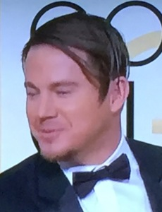 More filthy hair, this time on Channing Tatum. Photo by Karen Salkin.