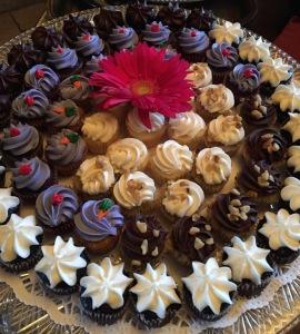 One of the dessert platters. Sue Wong. Photo by Karen Salkin.
