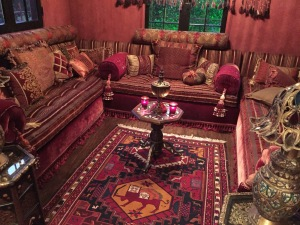 One of the popular rooms. Photo by Karen Salkin.