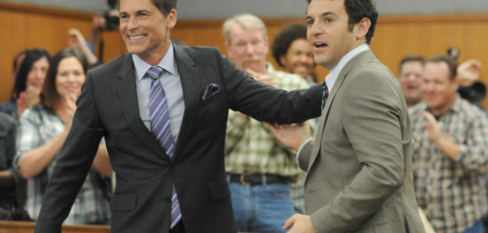 The Grinder stars, Rob Lowe and Fred Savage.