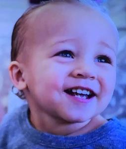 Jordan Burroughs' son.  What a beautiful child! Photo by Karen Salkin.