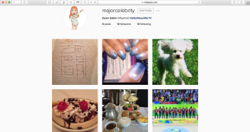 My very first six Instagram posts!