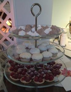 The sweet treats. Photo by Karen Salkin.