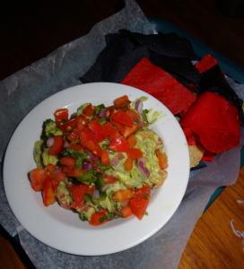 The guacamole. Photo by Lauren Clarke-Bennett.