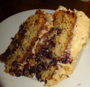 The special dessert. Photo by Lauren Clarke-Bennett.