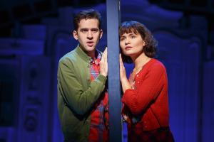 Adam Chanler-Berat and Phillipa Soo. Photo by Joan Marcus.