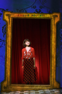 Phillipa Soo as Amélie.  Photo by Joan Marcus, as is the big one at the top of the page.