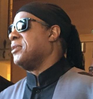 Stevie Wonder.  (Duh.)   Photo by Lisa Politz.
