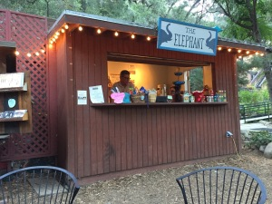 The snack bar, that makes me think I'm at a summer stock theatre in New England.  I love that feeling!!!  Photo by Karen Salkin.