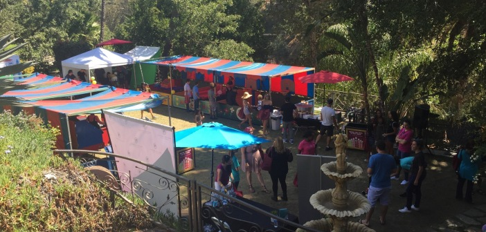 Looking down into the carnival section of the event.  Photo by Karen Salkin, as is the big one at the top of this page.