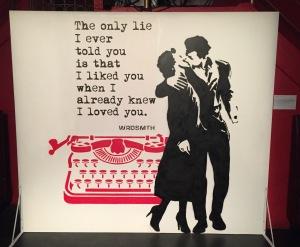 My favorite romantic piece! Photo by Karen Salkin.
