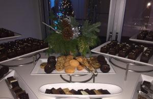 The dessert buffet. Photo by Karen Salkin.