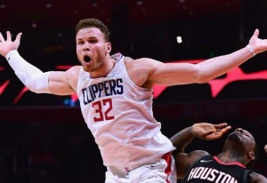 "Blake Griffin, appearing to say, ""WTF?"" to his trade."