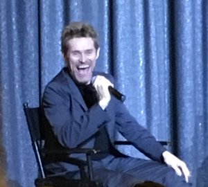 Willen Dafoe. Photo by Mr. X.