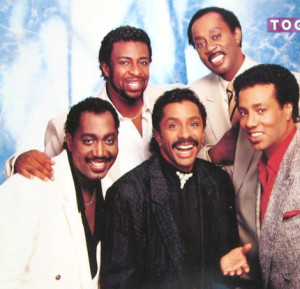 Clockwise from top left: Dennis Edwards, Melvin Franklin, Richard Street, Ron Tyson, Otis Williams--the Temptations I knew!