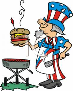 0511-0708-3015-4062_Uncle_Sam_BBQ_clipart_image