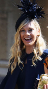 Chelsy Davy, Prince Harry's ex-girlfriend.  Doesn't she look so much more genuine, and fun, than his phony bride?!