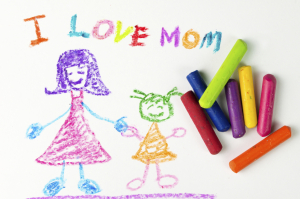 This looks like every picture I drew for my mother! (And still draw now!)