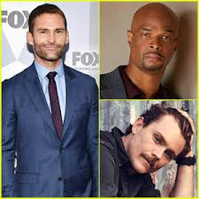 Clockwise from left: Seann William Scott, Damon Wayans, and Clayne Crawford.