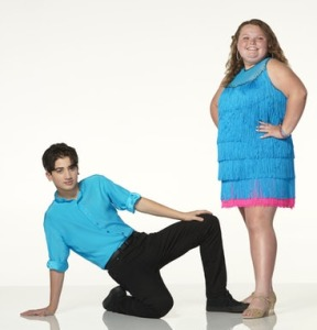 Honey Boo Boo and her very patient partner.