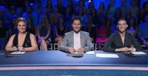 The judges: (L-R) Mandy, Val, and Adam.