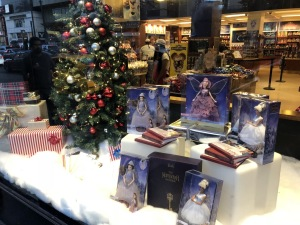 It's already Christmas with the Nutcracker merch at the attached store! Photo by Karen Salkin.