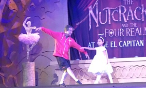 Look at this lovely father ballet posing on stage with his lucky daughter! Photo by Karen Salkin.