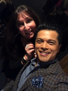 Karen Salkin and Vincent Rodriguez III.  Photo by... Vincent Rodriguez III!