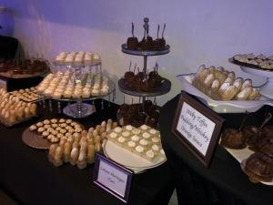 Chris Tucker's dessert bar. Photo by Karen Salkin.