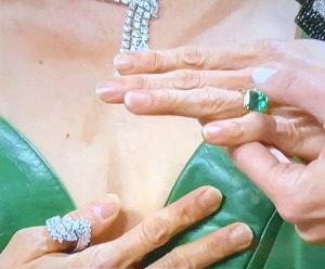 ...and her bad nails! Photo by Karen Salkin.