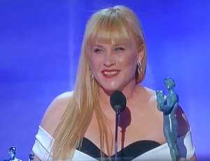 Just had to put this pic of Patricia Arquette up here, because it's the best her hair (and face, too, actually,) has ever looked!  Photo by Karen Salkin.