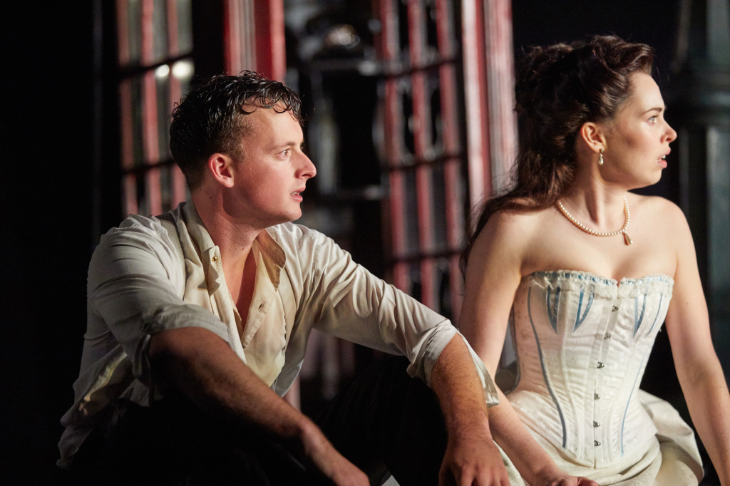 Hamish Riddle and Lianne Harvey. Photo by Mark Douet.