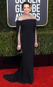 Olivia Colman's perfect gown.
