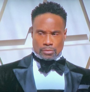 This is what Billy Porter looked like on the top...