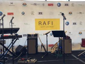 The stage. Photo by Karen Salkin.