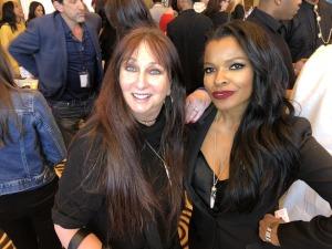 Karen Salkin and Keesha Sharp. Photo by Noelle Hannibal.