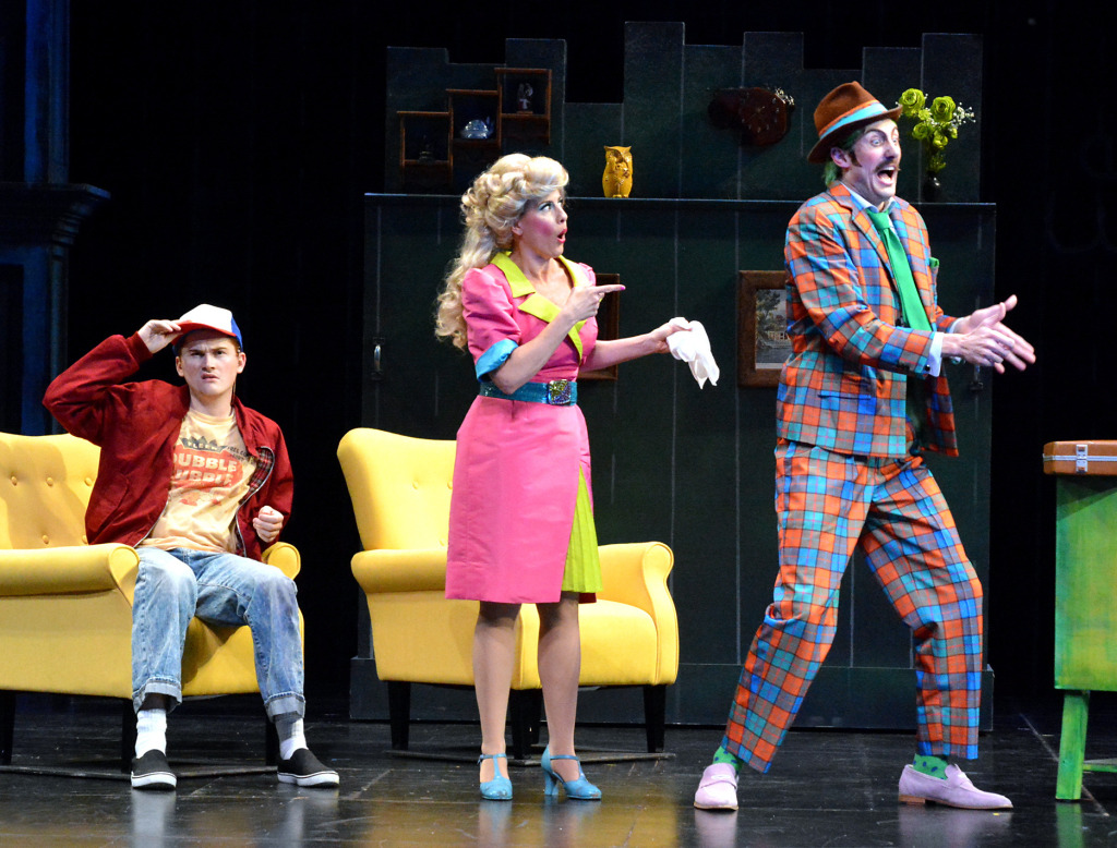 Nick McKenna, Janna Cardia, and James Larsen. Photo by Ed Krieger.