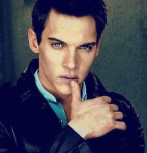 The stunning Jonathan Rhys Meyers.  (This is not what he looks like in the film, but I couldn't find a good image of him in it.)