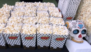 The popcorn.  (Duh.) Photo by Karen Salkin.