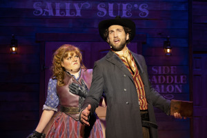 Kelly Brandeburg and Clayton Snyder. Photo by Aaron Batzdorff.