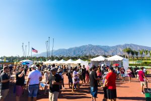 The crowd at the 2018 LA Food Fest.  Photo by Brian Feinzimer.
