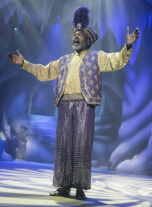Ben Vereen as the Genie in Aladdin and His Winter Wish. Photo by Clarence Alford.
