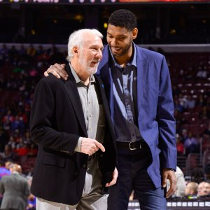 Gregg Popovich and Tim Duncan--what a winning pair!